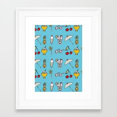 Summer! Framed Art Print