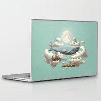 ocean Laptop & iPad Skins featuring Ocean Meets Sky  by Terry Fan