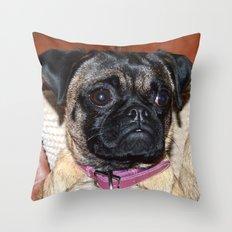 Mia. Throw Pillow