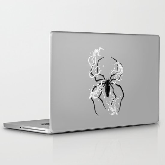 Disintegrate Laptop & iPad Skin