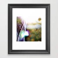 'Summer Sunburst' Framed Art Print
