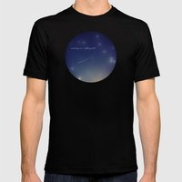 Wishing On A Falling Sta… Mens Fitted Tee Black SMALL