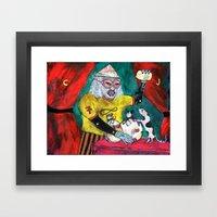 Alchimiste Framed Art Print