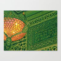 Chicago Cultural Center … Canvas Print