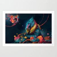 color madril Art Print