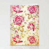 VINTAGE FLOWERS XXIV - for iphone Stationery Cards