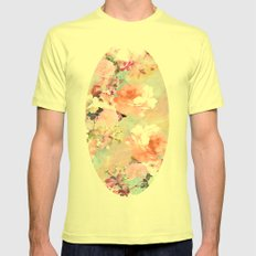 Love of a Flower Mens Fitted Tee Lemon SMALL