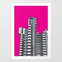 London Town - Lloyds Of … Art Print