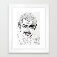 Clark Gable Framed Art Print
