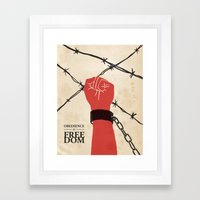 OBEDIENCE Is FREEDOM - T… Framed Art Print