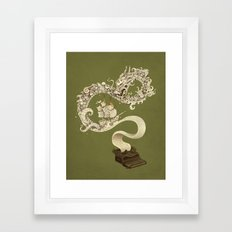 Unleashed Imagination Framed Art Print