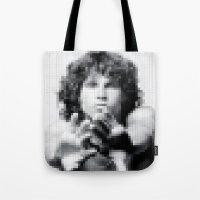 JM Pixel Photo Tote Bag