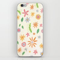 Colourful Daisies iPhone & iPod Skin