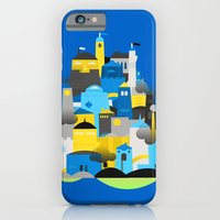 Magic Town - Blue iPhone 6 Slim Case