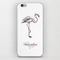 phoenicopterus iPhone & iPod Skin