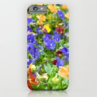 iPhone & iPod Case featuring Flower Palette  by Laura George