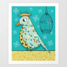 Tweedle De De Art Print