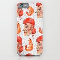 Prawn Lady iPhone 6 Slim Case