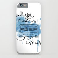 Music's all you need iPhone 6 Slim Case