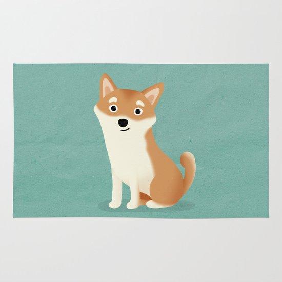 Shiba Inu - Cute Dog Series Area & Throw Rug