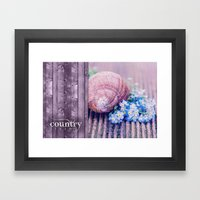 COUNTRY LIVE Framed Art Print