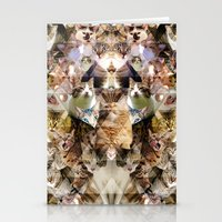 Cat Kaleidoscope Stationery Cards