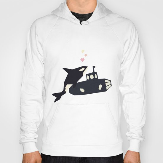 K is for Killer whale Hoody