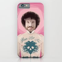 iPhone & iPod Case featuring Bob Ross is God by Sasquatch