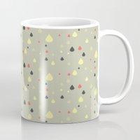 Retro Raindrops Mug