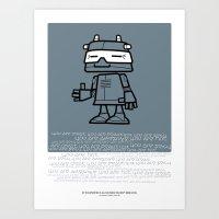 Ze Robot, Cool :) Art Print