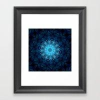 Ice Star  Framed Art Print