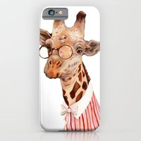 giraffe iPhone & iPod Cases featuring Giraffe by Animal Crew