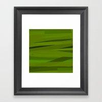 Camo Framed Art Print