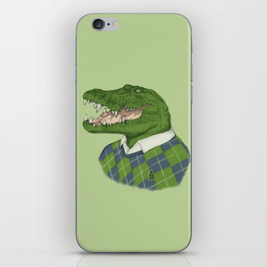 Argyle Crocodile iPhone & iPod Skin