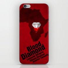 Blood Diamond Poster iPhone & iPod Skin