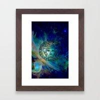 Versace Nebula  Framed Art Print