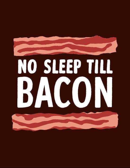 No Sleep Till Bacon Canvas Print