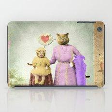 Momma Kitty Loves Her Kitten iPad Case