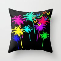 Bird's Paradise  Throw Pillow