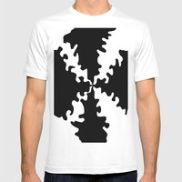 Puzzle Mens Fitted Tee White SMALL