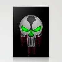 Punisher Spawn Mash-Up Stationery Cards