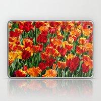 Field Of Spring Tulips Laptop & iPad Skin