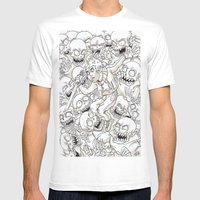 surround Mens Fitted Tee White SMALL