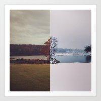 Fall / Winter Art Print