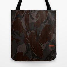 Modern Woodgrain Camouflage / British DPM Tote Bag