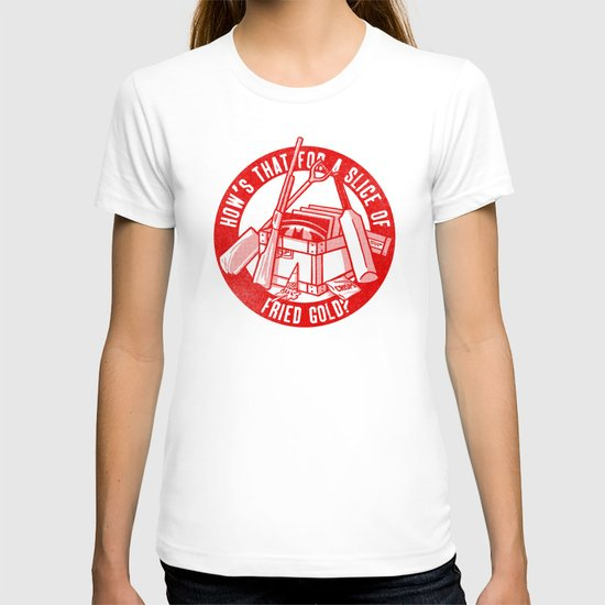 Fried Gold (red on you variant) T-shirt