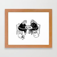 Thick as Thieves 2 Framed Art Print