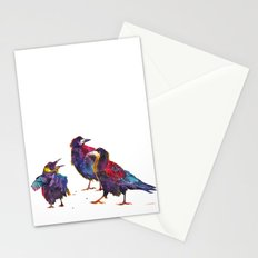 Ugly birds Stationery Cards
