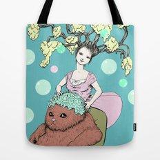 Purr Hairdresser Tote Bag