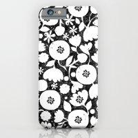 clear cut flowers iPhone 6 Slim Case